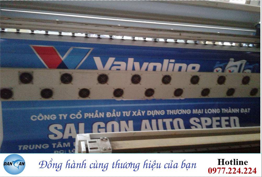 Lam bien quang cao tai Thanh Hoa cho nhan hang dau dong co Valvoline